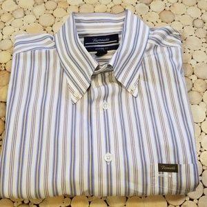 Faconnable Short Sleeve Button Down Shirt
